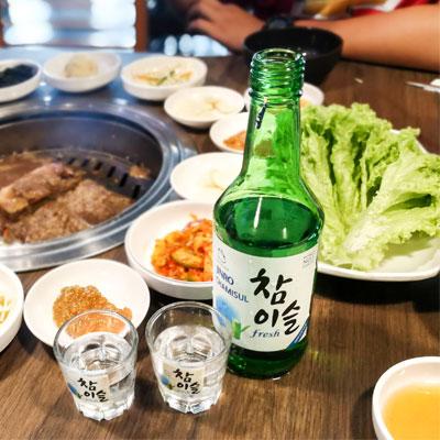 韓国焼酎各種