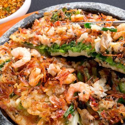 石焼き海鮮チヂミ