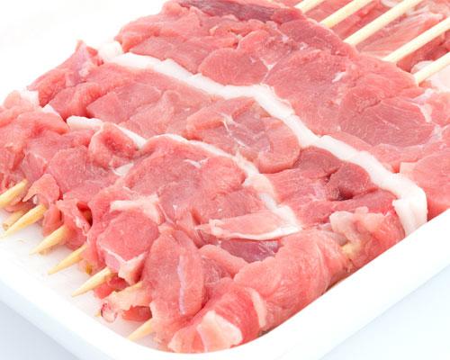 臭みのないジューシーな羊肉